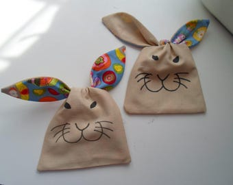 Sweet cotton bag for knotting