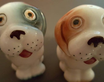 Absolutely Adorable Puppy Salt and Pepper Shakers!