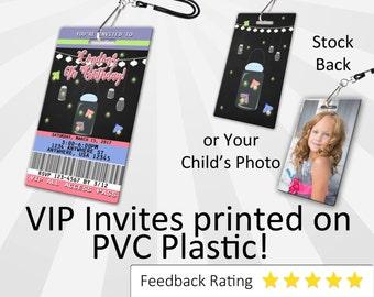 Firefly Invitation PLASTIC Firefly, Firefly Invitation, Birthday Invitation, Birthday Invite, Firefly Birthday Invitation