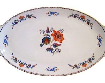 Limoges Floral Serving Platter
