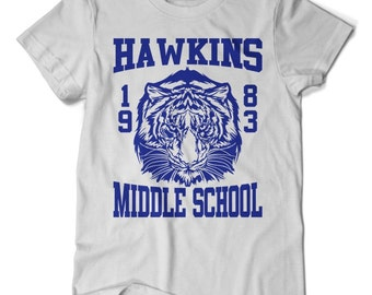 Hawkins Middle School, Stranger Things T-shirt