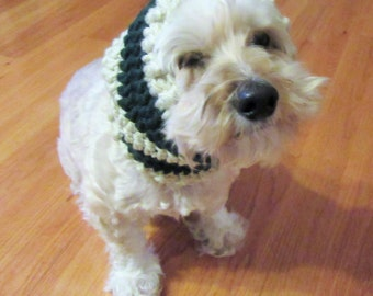Crochet Dog Snood, Dog Ear Warmer, Dog Neck Warmer, Handmade Dog Scarf, Crochet Dog Scarf, Pet Lover gift, Pet Accessory