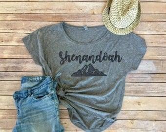 Shenandoah Dolman - Love VA - Virginia is for Lovers - national park - hiking - women's shirt - women's clothing - mountain Mama