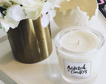 French Pear  Large Soy Candle