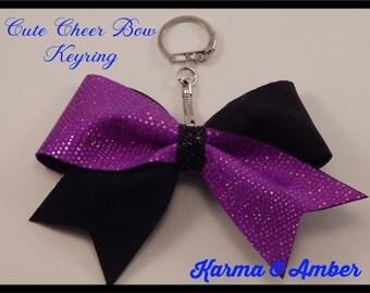 Cheer Bow Keyring
