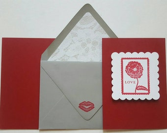 Small Card Collection - Love Postage Stamp