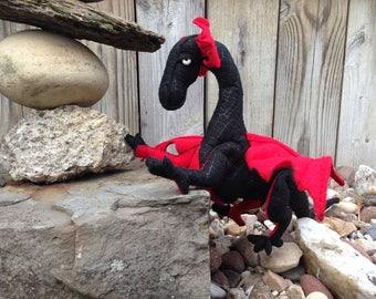 Baby Dragon: Hand-Stitched Stuffed Plush