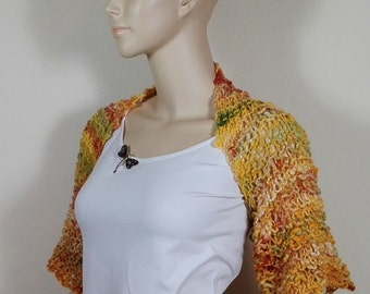 Autumn colors in the hippie style Bolero
