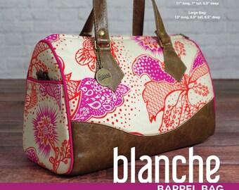 Blanche Barrel Bag - Swoon Patterns - Bag Pattern