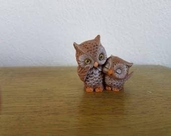 Ceramic 2 Small Cute Owls (#901)