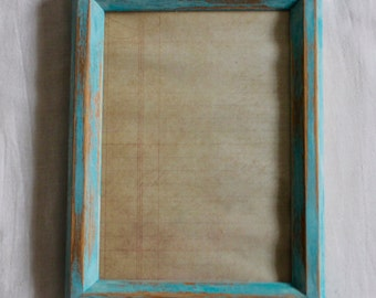 Hand-Painted Picture Frame