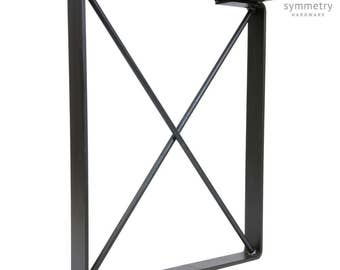 Rustic Iron Table Leg - Big Corral - 1 SINGLE LEG