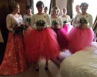 Adults tutu skirt, bridesmaid tutu skirt, ballet tutu, tutu skirt, wedding tutu, tutu dress, prom tutu skirt, tulle skirt