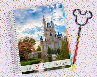 Disney World Erin Condren Life Planner Cover CUSTOMIZED DIGITAL DOWNLOAD - Cinderella Castle 13