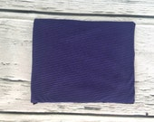 The Thin Purple and Black Original Swaddle Blanket