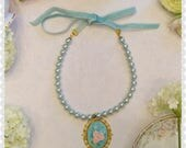 lS1 Blue skies necklace