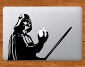 Darth Vader Apple MacBook Decal Laptop Sticker Star Wars Laptop Decal