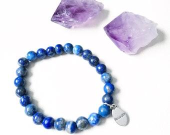 Gemstone Bracelet, Frienship Bracelet, Communication, Healing Energy, Purification, Manifestation