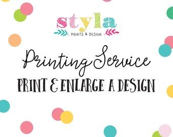 Enlarge A Print- Print Bigger Sizes