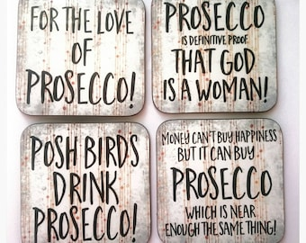 Prosecco Lovers Coasters