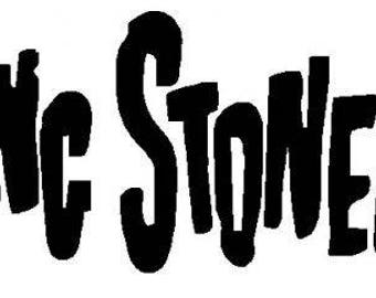 "Rolling Stones sticker // 7"" inch vinyl decal // choose White or Black or Red"