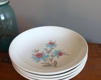 Vintage Set of Bowls - Steubenville China - Steubenville Bowls - Fairlane Bowls - Vintage China
