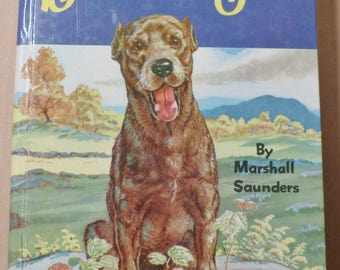 Beautiful Joe Marshall Saunders Vintage book Antique book Collectible book Animal story Children's story 1950s book