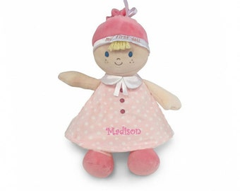 Personalized Baby Gift - My First Doll - Blonde - 11 inch