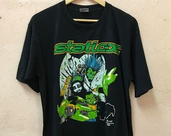 90s Static-X Band T-shirt