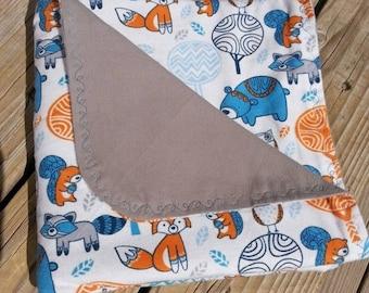 Owl Blanket Pattern Etsy