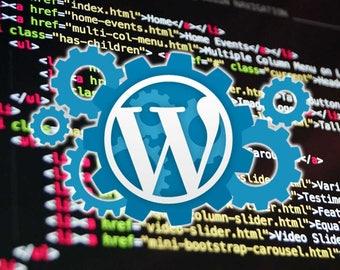 Personalized WordPress Site, Desktop & Mobile Friendly
