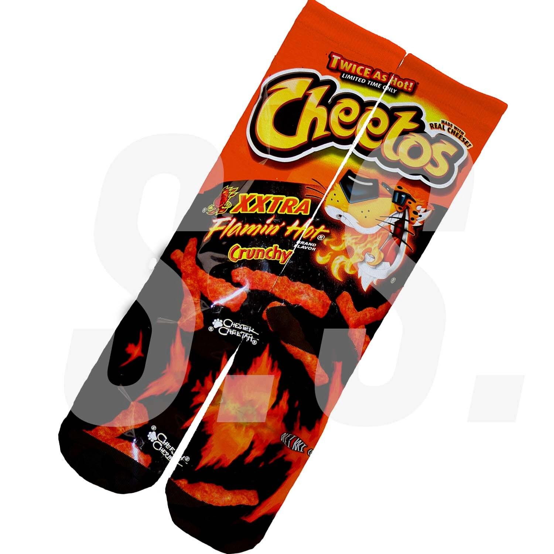 Hot Cheetos And Takis Socks