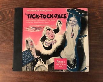 Tick-Tock-Tale - Storyland Theater Presents - 3 Records