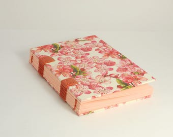 Diary, day mothers, for she, format A6, Coptic binding, diary, notebook, book of pregnancy gift