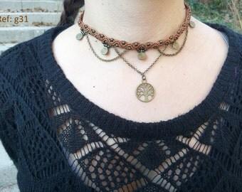 Choker Macramé Necklace
