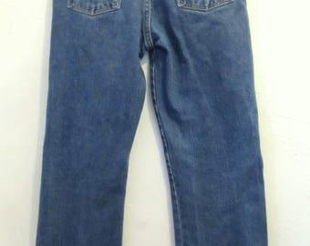 Tween Boy's,Vintage 90's Blue,Reg Fit COWBOY Jeans By WRANGLER.16R(28x30)