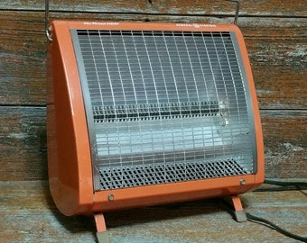vintage general electric space heater fan forced radiant heater
