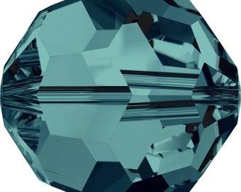 Swarovski Crystal Round Beads 5000 -3mm  4mm 6mm 8mm - Indicolite