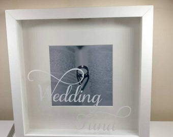 Wedding Fund Money Box Frame