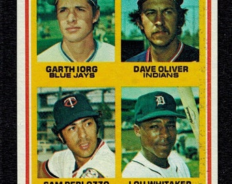 LOU WHITAKER ROOKIE 1978 Topps Baseball #704 Detroit Tigers Near Mint+