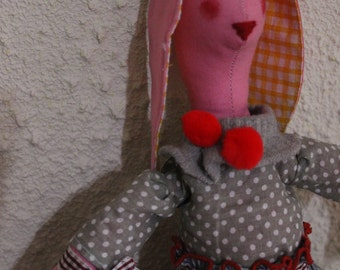 Doll rabbit Tlda
