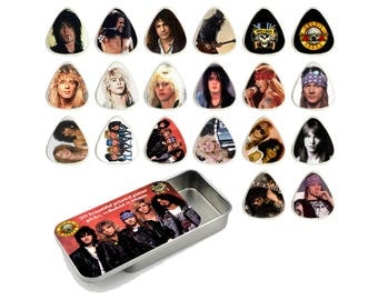 Guns N Roses Guitar Pick Gift Set - Set of 20
