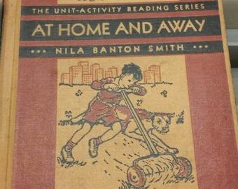 At Home & Away Silver Burdett School Primer Reader