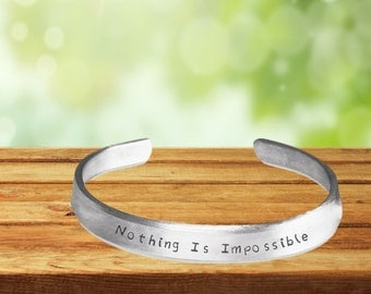 Nothing is Impossible Bracelet