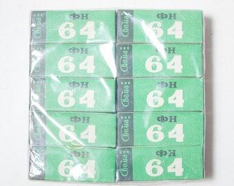 5 rolls 120 black and white film Svema FN64 Medium format roll film, expired in 1990s