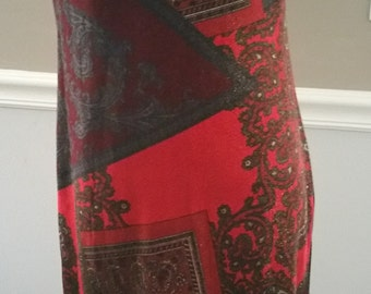 Jonathan Martin Studio Stretch Velvet Maxi Dress Size 10