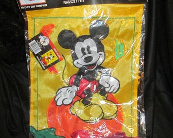 mickey mouse hanging flag