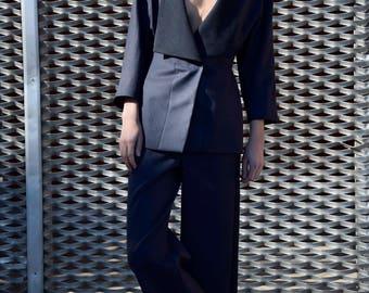 Tailleur blue/woman pants/woman jacket