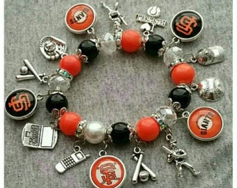 San Francisco Giants charm bracelet