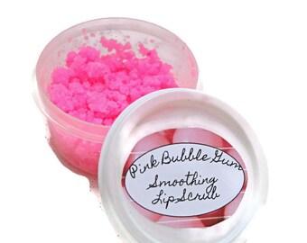 Pink Lip Scrub - Sugar Lip Scrub - Natural Lip Scrub - Vegan Lip Scrub - Exfoliating Lip Scrub - Gift for her - Organic Lip Scrub - Vanilla